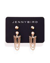 Jenny Bird   Metallic Lezark Ear Jackets   Lyst