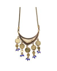 Jenny Bird - Metallic August Moon Necklace - Lyst