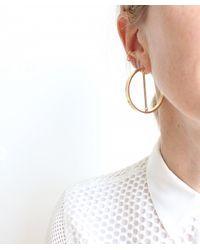 Jenny Bird - Metallic Mia Hoops - Lyst
