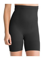 Spanx | Black Slim Cognito Shaping Mid-thigh Body Briefer Plus Size | Lyst
