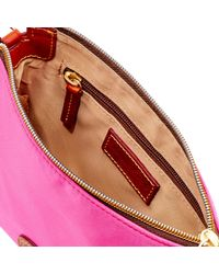 Dooney & Bourke - Multicolor Nylon Crossbody Pouchette - Lyst