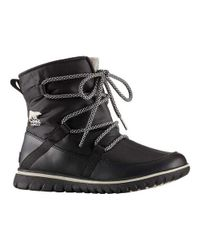 Sorel | Black Cozy Explorer Snow Boot for Men | Lyst