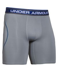 Under Armour - Gray Iso-chill 9in Boxerjock for Men - Lyst
