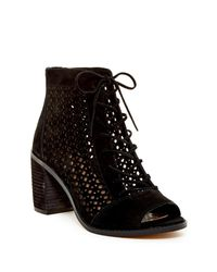 Vince Camuto - Black Trevan Ankle Bootie - Lyst