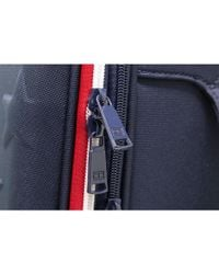 """Tommy Hilfiger - Red Luggage Starlight 24"""" Expandable Spinner Checked Luggage - Lyst"""