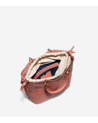 Cole Haan - Multicolor Genevieve Open Weave Tote - Lyst