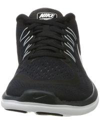 680758bddb16 Lyst - Nike Flex 2017 Rn Running Shoe Black white anthracite wolf ...