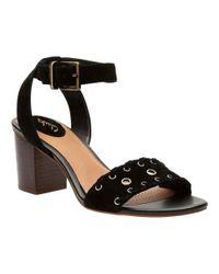 Clarks - Black Ralene Sheen Ankle Strap Sandal - Lyst