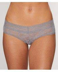 Calvin Klein - Purple Bare Lace Hipster - Lyst