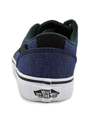 Vans - Chapman Stripe Youth Us 3 Blue Sneakers for Men - Lyst
