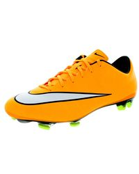 Nike - Orange Men's Mercurial Veloce Ii Fg Soccer Cleat for Men - Lyst