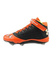 Under Armour - Multicolor Team Fierce D Com W Men Us 15 Black Cleats for Men - Lyst