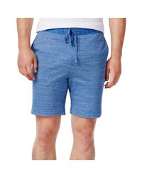 Tommy Hilfiger - Blue Alex Knit Heathered Casual Shorts for Men - Lyst