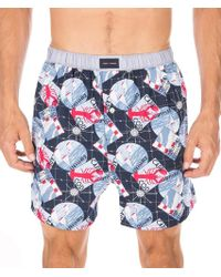 Tommy Hilfiger - Blue Mens Size Small S Sailboat Print Boxer Underwear for Men - Lyst