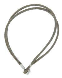 Pandora - Multicolor Fabric Cord Bracelet - Lyst