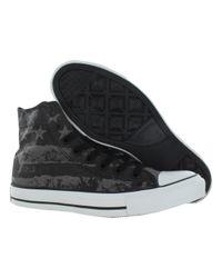 Converse - Black Chuck Taylor Hi Shoes Size 4/ 6 for Men - Lyst