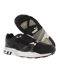 PUMA - Black Trinomic Xt2 Plus Tech Sneakers for Men - Lyst