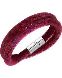 Swarovski - Multicolor 5139748 Stardust Double Ruby Bracelet - Lyst