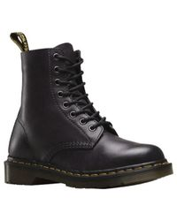 Dr. Martens | Black Unisex Pascal 8-eye Boot | Lyst