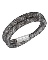 Swarovski - Metallic Stardust Light Multi Double Bracelet Medium - 5100094 - Lyst