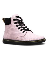 Dr. Martens - Pink Maelly Padded Collar Boot - Lyst