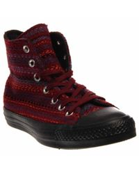 62f3b4268d1d Lyst - Converse Chuck Taylor All Star Winter Hi in Red for Men