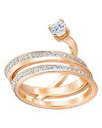 Swarovski - Metallic Fresh Ring Size 55 - Lyst