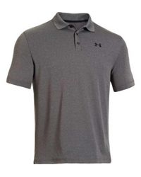 Under Armour | Gray Performance Polo for Men | Lyst