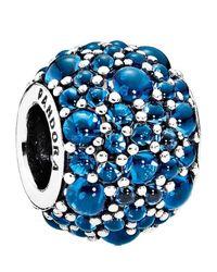 Pandora - Blue Shimmering Droplets - Lyst