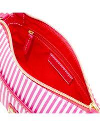 Dooney & Bourke - Red Db Stripe Ginger Crossbody - Lyst