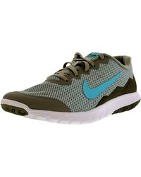 Nike - Gray Flex Experience Rn 4 W Wold Grey/td Pl Blue/cool Grey/white Ankle-high Walking Shoe for Men - Lyst