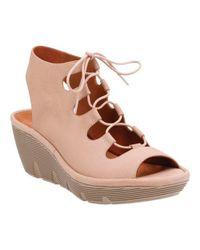 180af1276314 Lyst - Clarks Clarene Grace Wedge Sandal in Brown