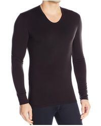 Calvin Klein | Black Mens Size Large L Thermal Long Sleeve Tee Shirt for Men | Lyst