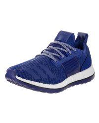 c6c8b48b1fd29 Lyst - adidas Pureboost Zg Blue white Running Shoe 8 Men Us in Blue ...