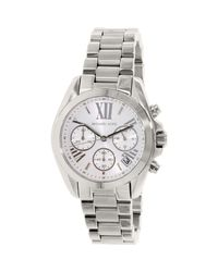 Michael Kors | Metallic Mk6174 Bradshaw Stainless-steel Watch | Lyst
