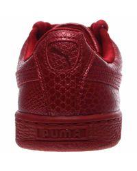 PUMA - Pink Basket Future Minimal Casual Shoes - Lyst