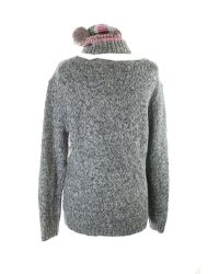 Tommy Hilfiger - Multicolor Womens Cable Knit Marled Pullover Sweater - Lyst