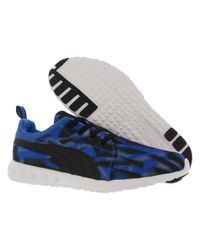 PUMA - Blue Carson Tunner Geo Camo Casual Shoes Size 10.5 for Men - Lyst
