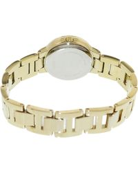 Fossil - Metallic Virginia Es3283 Gold Stainless-steel Quartz Fashion Watch - Lyst