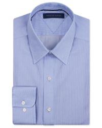 Tommy Hilfiger - Striped Button Up Dress Shirt Blue 14 1/2 for Men - Lyst
