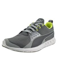 PUMA - Valor Men Round Toe Synthetic Gray Sneakers for Men - Lyst