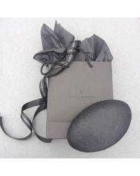 Stelios Karantonas - Metallic Karma Oxidised Silver And Gold Two Fingers Ring - Lyst