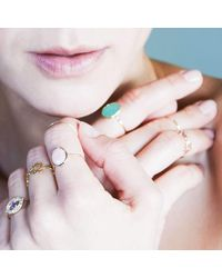 Black Betty Design - Multicolor Skinny Joy Chrysoprase Ring - Lyst