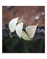 Amazona Secrets - Multicolor Savannah's Leaf Bracelet - 5 Leaves - Lyst