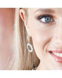 Miglio - Multicolor Infinity Drop Earrings - Lyst