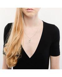 Betty Balaba - Metallic Sterling Silver Groundnut Necklace - Lyst