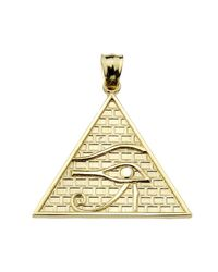 QP Jewellers - Metallic Horus Pendant Necklace In 9kt Gold - Lyst