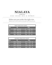 Nialaya - Multicolor Grey Stingray Bracelet With Silver Lock - Lyst