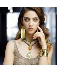 Devon Leigh - Multicolor Long Turquoise Pendant Necklace - Lyst