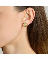 Paolo Costagli New York - Metallic Yellow Gold Brilliant Stud Earrings, Grande - Lyst